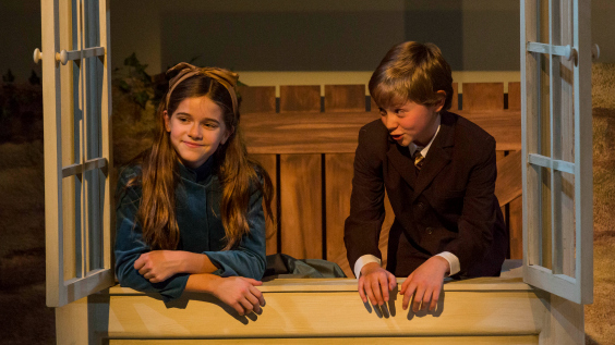 Peter Rabbit and Me Production Photos