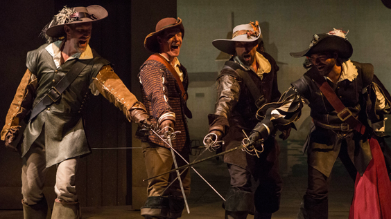 The Three Musketeers Production Photos