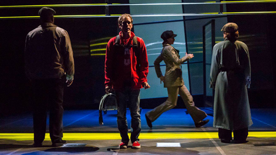The Curious Incident of the Dog in the Night-Time Production Photos