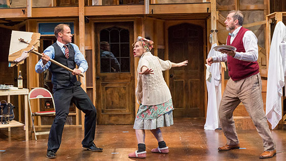 Noises Off Production Photos