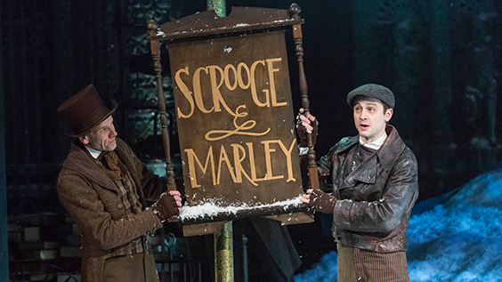 A Christmas Carol Production Photos