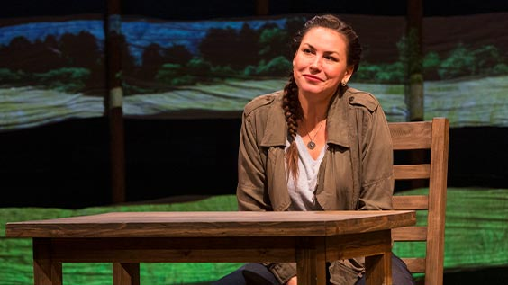 And So We Walked: An Artist's Journey Along the Trail of Tears Production Photos