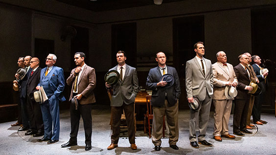 Twelve Angry Men Production Photos